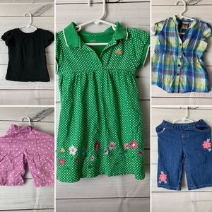 3 outfit bundle 2T girls summer clothing